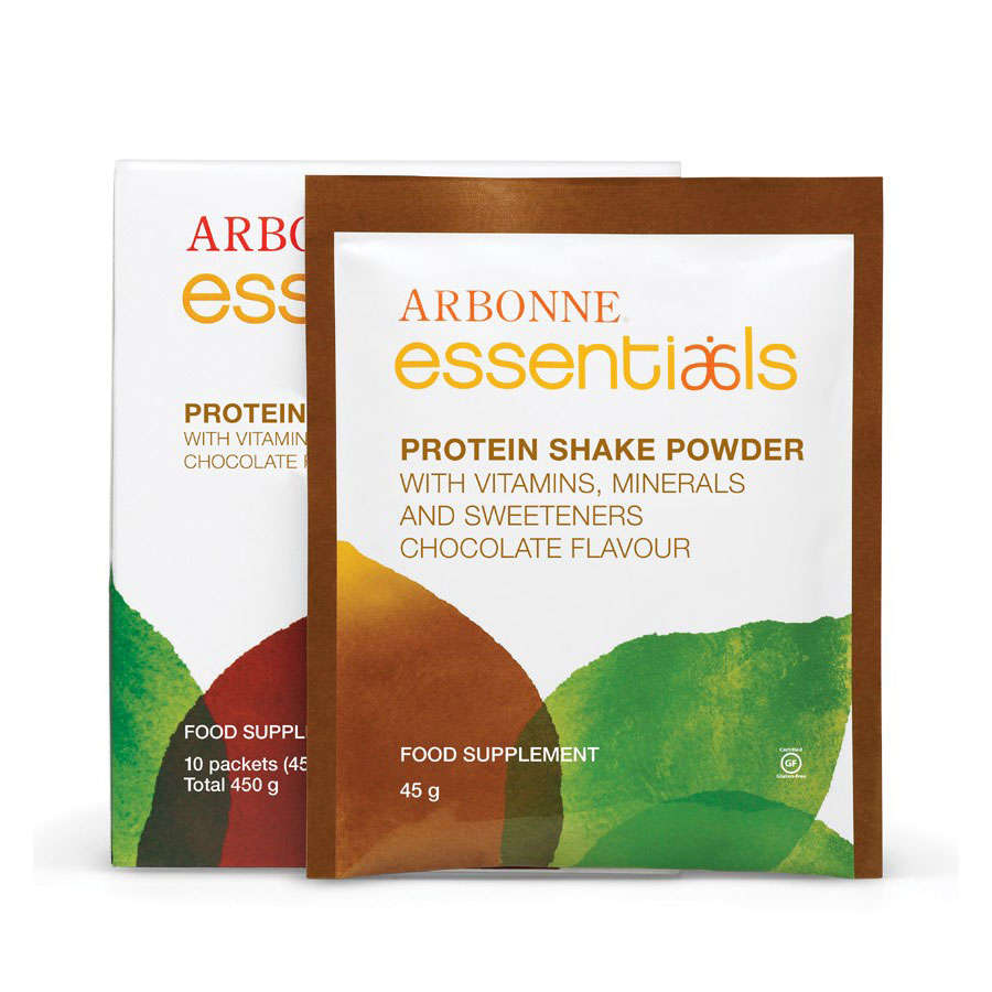 Chocolate Protein Shake Mix - 10 Pack - Arbonne Essentials